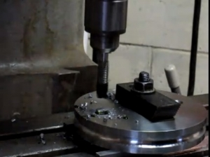 Power Tapping with a Mill