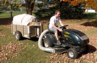 Leaf Vacuuming Trailer