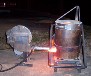 Build Gas Fired Crucible