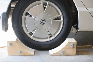 Homemade Wheel Chocks