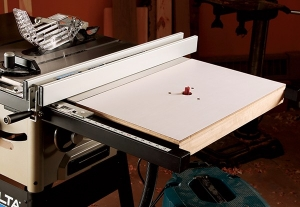 Router Table Extension