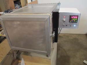 Homemade Heat Treatment Oven