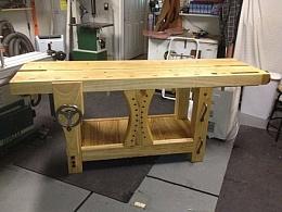 Homemade Split Roubo Workbench