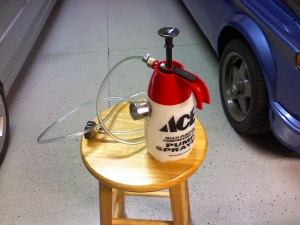Pressure Brake Bleeder >> Homemade Pressure Bleeder - HomemadeTools.net