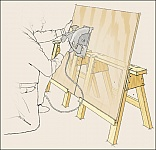 Sawhorse Modification