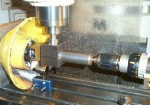 Right-Angle Drilling Head