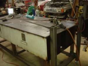 Welding and Toolbox Worktable