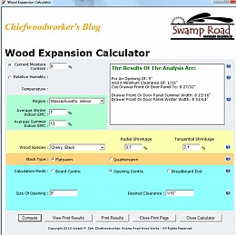 Homemade wood expansion calculator for Log home cost calculator