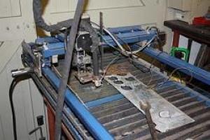 Homemade CNC Plasma Table