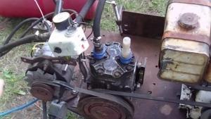 Homemade Generator, Welder, and Air Compressor