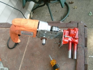 Drill-Powered Pump