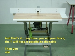Homemade router table fence homemadetools homemade router table fence keyboard keysfo Images