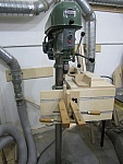 Dual-Mode Drill Press Table