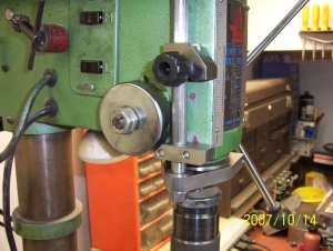 Drill Press Depth Stop