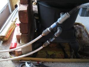 Homemade RV Boiler Heating System