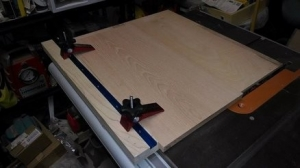 Table Saw Panel Sled