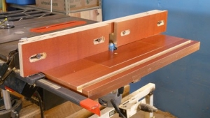 Table Saw Router Table Wing