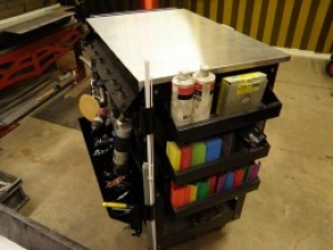 Custom Metalworking Tool Cart