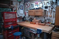 Workbench Top from Doors