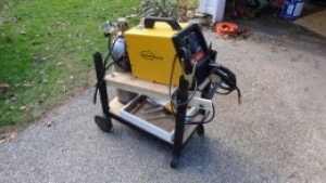 Gas Grill Welding Cart