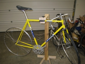 Homemade Bicycle Stand