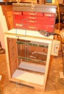 Homemade Wooden Utility Cart