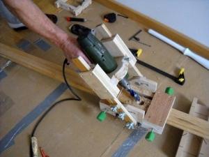 Homemade Hand Drill Adjustable Guide Homemadetoolsnet