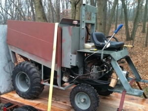 Homemade Modified Garden Tractor Homemadetools Net