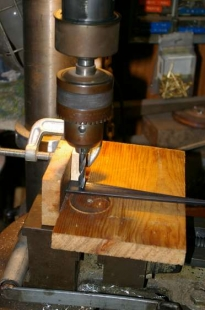 Drill Press Fence