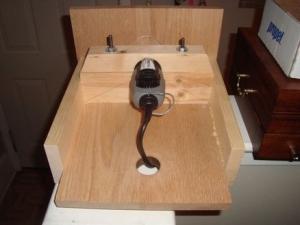 Homemade dremel table for Diy dremel router table