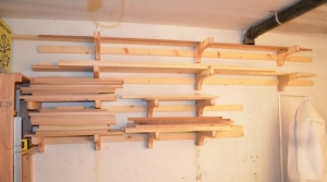 Homemade French Cleat Lumber Storage Rack Homemadetools Net