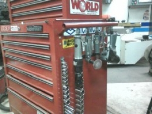 Toolbox Air Tool Hanger