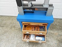 Lathe Table Cabinet