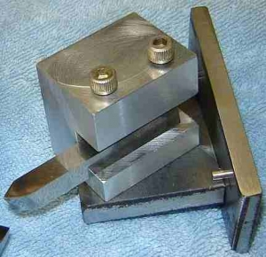 Threading Tool Sharpening Fixture