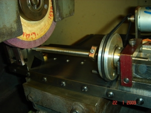Homemade Surface Grinder Attachment