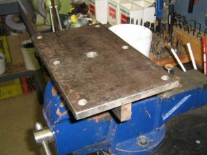 Drill Press Base Plate