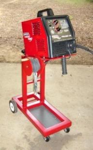 Homemade MIG Welder Cart