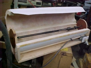 Homemade Rifle Coating Curing Oven