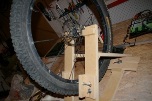 Bicycle Wheel Truing Stand