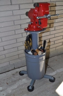 Homemade Outdoor Vise Stand Homemadetools Net
