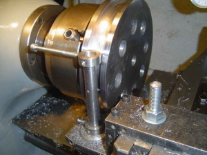 Turning Fixture for Lathe