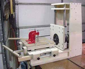 Mortise-Flex Mortising Machine