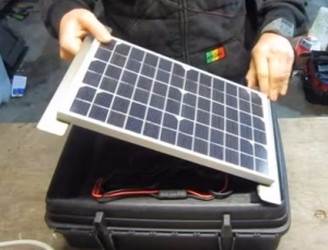 Homemade Solar Generator