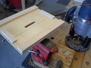 Plunge Routing Jig