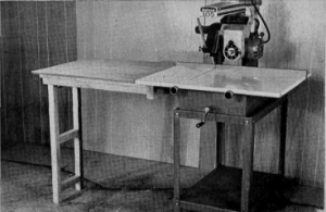 Radial Arm Saw Extension Table