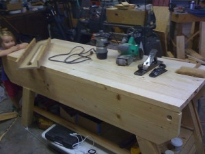Spruce Workbench