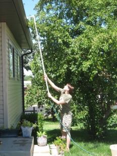 Homemade Rain Gutter Cleaner Homemadetools Net