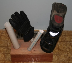 Homemade Boot and Glove Dryer