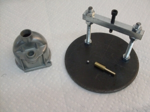 Homemade Carburetor Float Needle Jig - HomemadeTools net