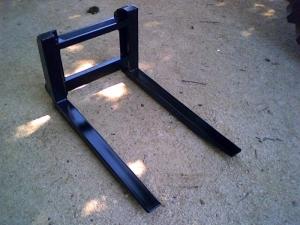 Homemade Skid Steer Pallet Forks